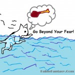 An Inspiring Short Fable Story Titled A Cat and The Flood REVIEW