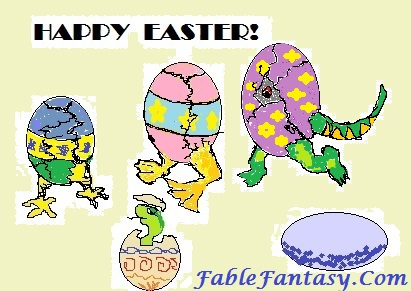 Happy Easter by Fable Fantasy