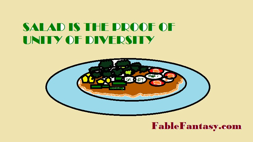 Salad's Fable Story: Taste of Diversity