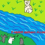 Short Fable Story for Children: Turkish Van Cat and Little Mice  REVIEW