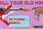 Dont kill old horses
