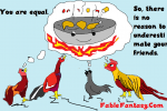 Wok and Roosters Fable