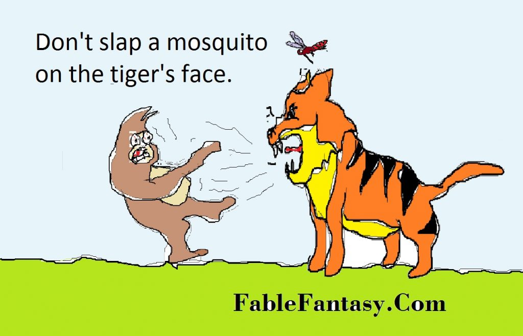 fable story about animals with moral lesson